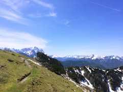Berge_Weg