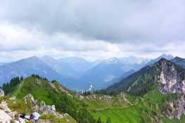 Karwendel_Gipfelaussicht