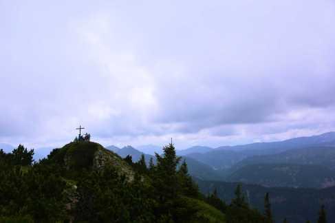 Risserkogel-Gipfelkreuz